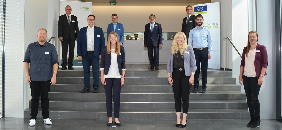 Six young women and men receive Ludwig Schunk Prizes
