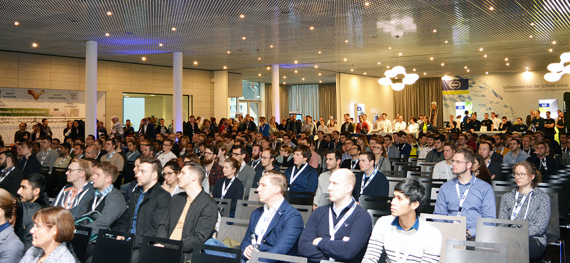 Around 350 students attended the Campus@Schunk event