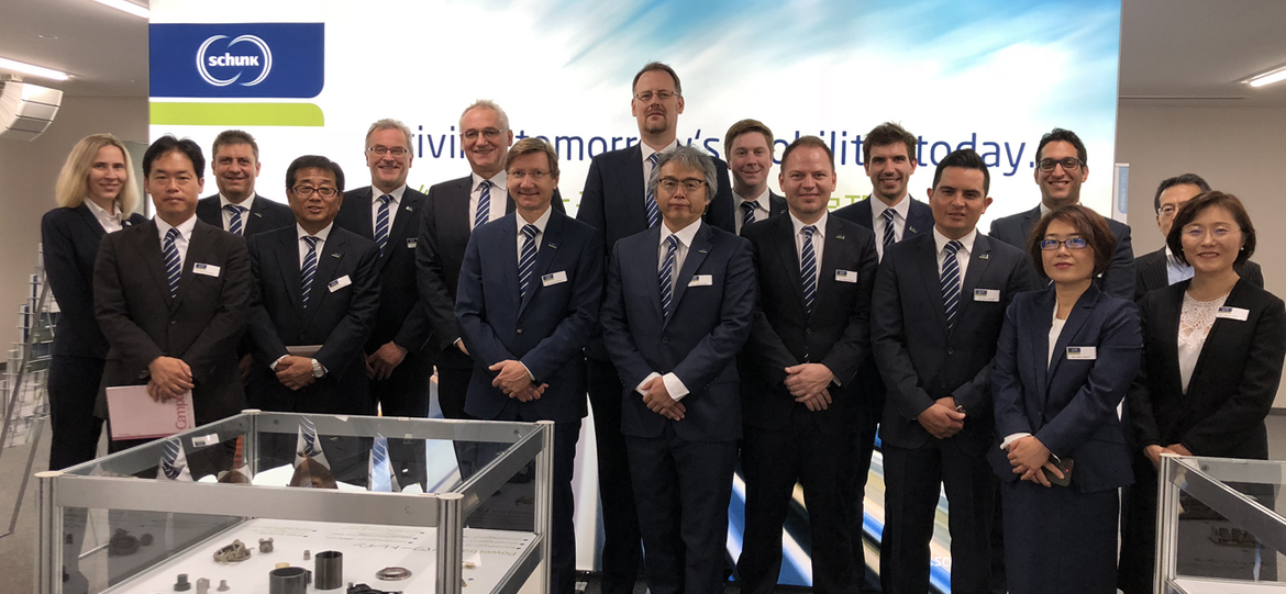 Schunk convinces second largest automotive supplier worldwide