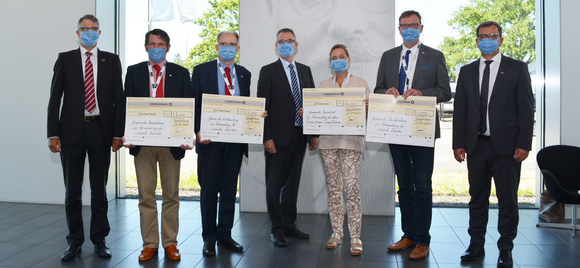 Ludwig-Schunk-Foundation donates for social purposes