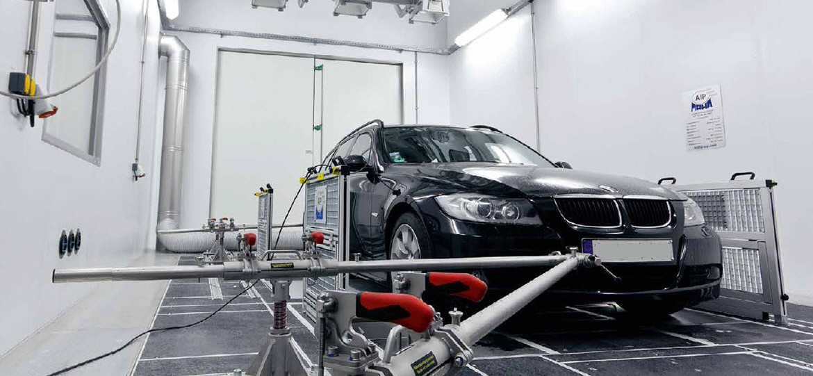 Climate Chambers with Dynamometer Test and Sun Simulation at KFE Lippstadt