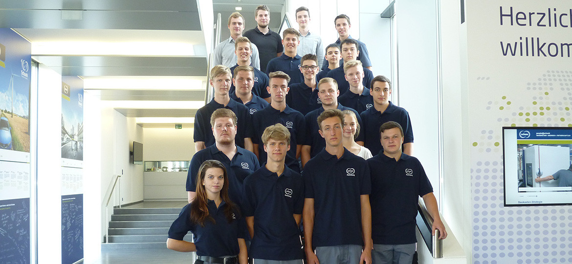 Schunk welcomes 33 new trainees to Central Hesse