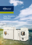 Solar Simulation Chambers SunEvent - Product information
