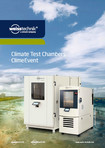 Climate Test Chambers ClimeEvent - Product brochure