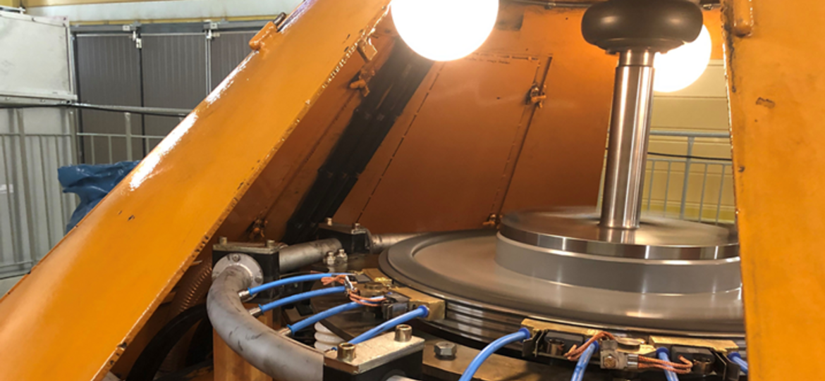 First hydropower plant in Scandinavia equipped with Schunk extraction system for brush dust