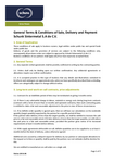 Download: General Terms & Conditions of Sale