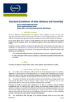 Download: Standard Conditions of Sale, Delivery and Assembly