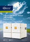 Download: Thermal and Climatic Altitude Test Chambers SkyEvent TA/TAH