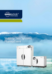 Download: Stability Test Systems, PharmaEvent