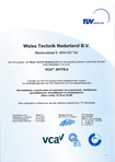 Download: VCA Certificaat AS WTN