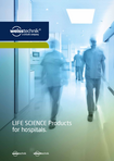 Download: LIFE SCIENCE Products for hospitals.