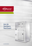 Download: Hot Air Sterilisers,  SteriEvent