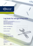Download: Log book for refrigerating units