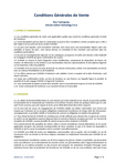 Download: Conditions Générales de Vente